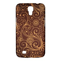 Gold And Brown Background Patterns Samsung Galaxy Mega 6 3  I9200 Hardshell Case by Nexatart