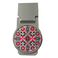 Beautiful Art Pattern Money Clips (round)  by Nexatart