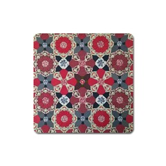 Beautiful Art Pattern Square Magnet