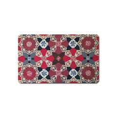 Beautiful Art Pattern Magnet (name Card)