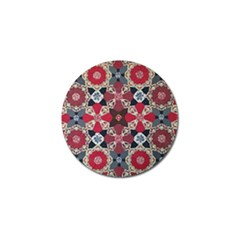 Beautiful Art Pattern Golf Ball Marker by Nexatart