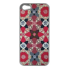 Beautiful Art Pattern Apple Iphone 5 Case (silver) by Nexatart