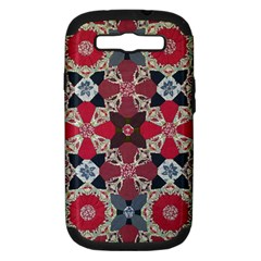 Beautiful Art Pattern Samsung Galaxy S Iii Hardshell Case (pc+silicone) by Nexatart