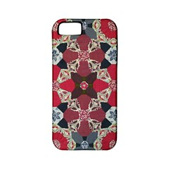 Beautiful Art Pattern Apple Iphone 5 Classic Hardshell Case (pc+silicone)