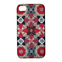 Beautiful Art Pattern Apple Iphone 4/4s Hardshell Case With Stand
