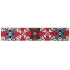 Beautiful Art Pattern Flano Scarf (large)