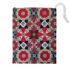 Beautiful Art Pattern Drawstring Pouches (xxl) by Nexatart