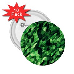 Green Attack 2 25  Buttons (10 Pack)