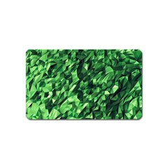 Green Attack Magnet (name Card) by Nexatart