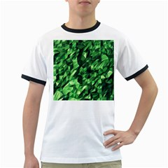 Green Attack Ringer T Shirts
