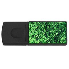 Green Attack Usb Flash Drive Rectangular (4 Gb)