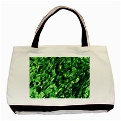 Green Attack Basic Tote Bag by Nexatart