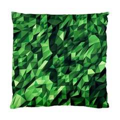 Green Attack Standard Cushion Case (two Sides) by Nexatart