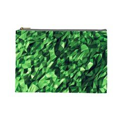 Green Attack Cosmetic Bag (large)  by Nexatart