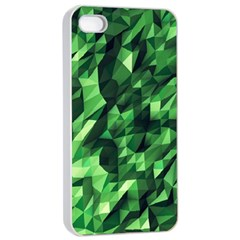 Green Attack Apple Iphone 4/4s Seamless Case (white)