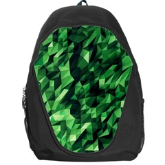 Green Attack Backpack Bag by Nexatart