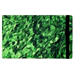 Green Attack Apple Ipad 3/4 Flip Case by Nexatart