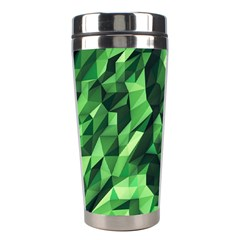 Green Attack Stainless Steel Travel Tumblers by Nexatart