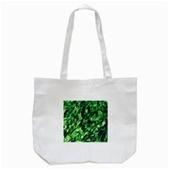 Green Attack Tote Bag (white) by Nexatart