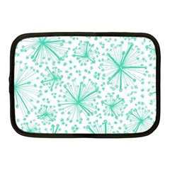 Pattern Floralgreen Netbook Case (medium)