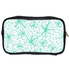 Pattern Floralgreen Toiletries Bags