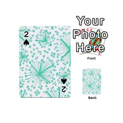 Pattern Floralgreen Playing Cards 54 (mini)