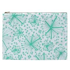Pattern Floralgreen Cosmetic Bag (xxl)