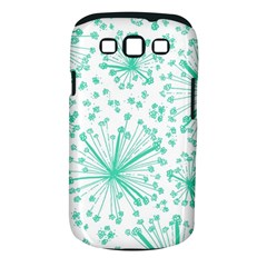 Pattern Floralgreen Samsung Galaxy S Iii Classic Hardshell Case (pc+silicone) by Nexatart