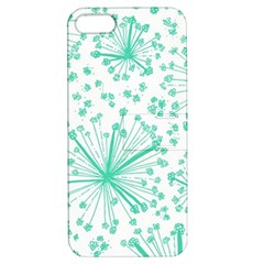 Pattern Floralgreen Apple Iphone 5 Hardshell Case With Stand by Nexatart