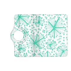 Pattern Floralgreen Kindle Fire Hd (2013) Flip 360 Case by Nexatart