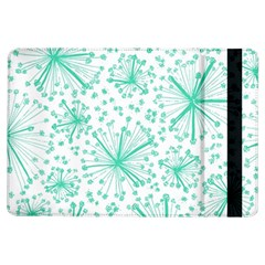 Pattern Floralgreen Ipad Air Flip by Nexatart
