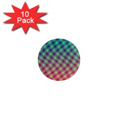 Art Patterns 1  Mini Magnet (10 Pack)