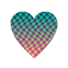 Art Patterns Heart Magnet