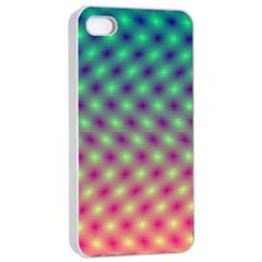 Art Patterns Apple Iphone 4/4s Seamless Case (white)