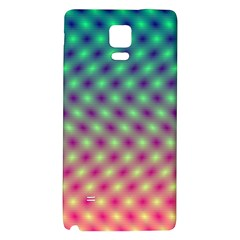 Art Patterns Galaxy Note 4 Back Case