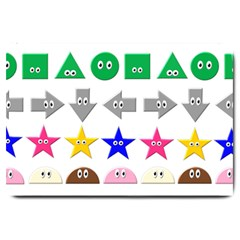 Cute Symbol Large Doormat