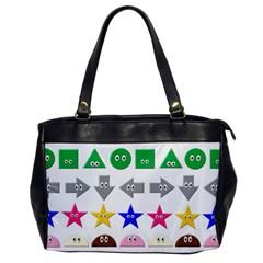 Cute Symbol Office Handbags by Nexatart