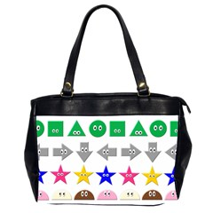 Cute Symbol Office Handbags (2 Sides)  by Nexatart