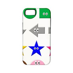 Cute Symbol Apple Iphone 5 Classic Hardshell Case (pc+silicone)