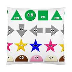 Cute Symbol Standard Cushion Case (two Sides) by Nexatart