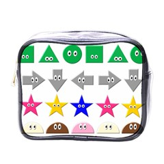 Cute Symbol Mini Toiletries Bags by Nexatart