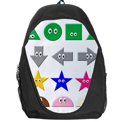 Cute Symbol Backpack Bag by Nexatart