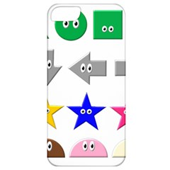 Cute Symbol Apple Iphone 5 Classic Hardshell Case by Nexatart