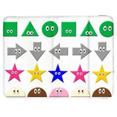 Cute Symbol Samsung Galaxy Tab 7  P1000 Flip Case by Nexatart