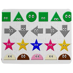 Cute Symbol Jigsaw Puzzle Photo Stand (rectangular)