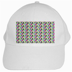 Cool Graffiti Patterns  White Cap by Nexatart