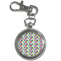 Cool Graffiti Patterns  Key Chain Watches by Nexatart