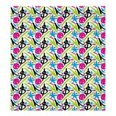 Cool Graffiti Patterns  Shower Curtain 66  X 72  (large)  by Nexatart