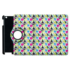 Cool Graffiti Patterns  Apple Ipad 3/4 Flip 360 Case by Nexatart