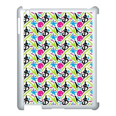 Cool Graffiti Patterns  Apple Ipad 3/4 Case (white)